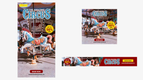 Circus Display Ad - By Parthiban