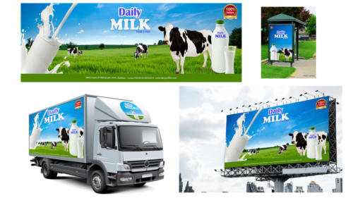 Milk Ad by -  Abdul