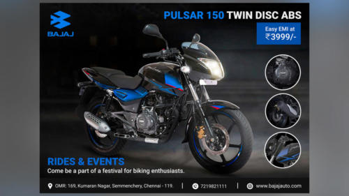 Pulsar Ad by - Parthiban